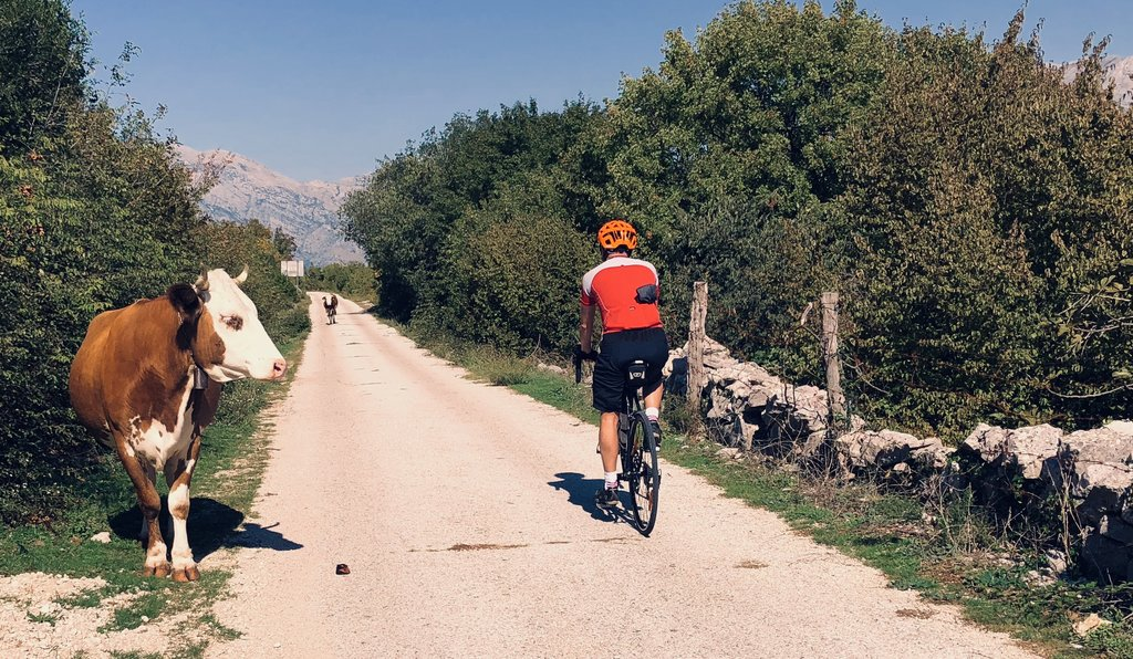 Cycling the Ciro route from Croatia to Bosnia and Herzegovina