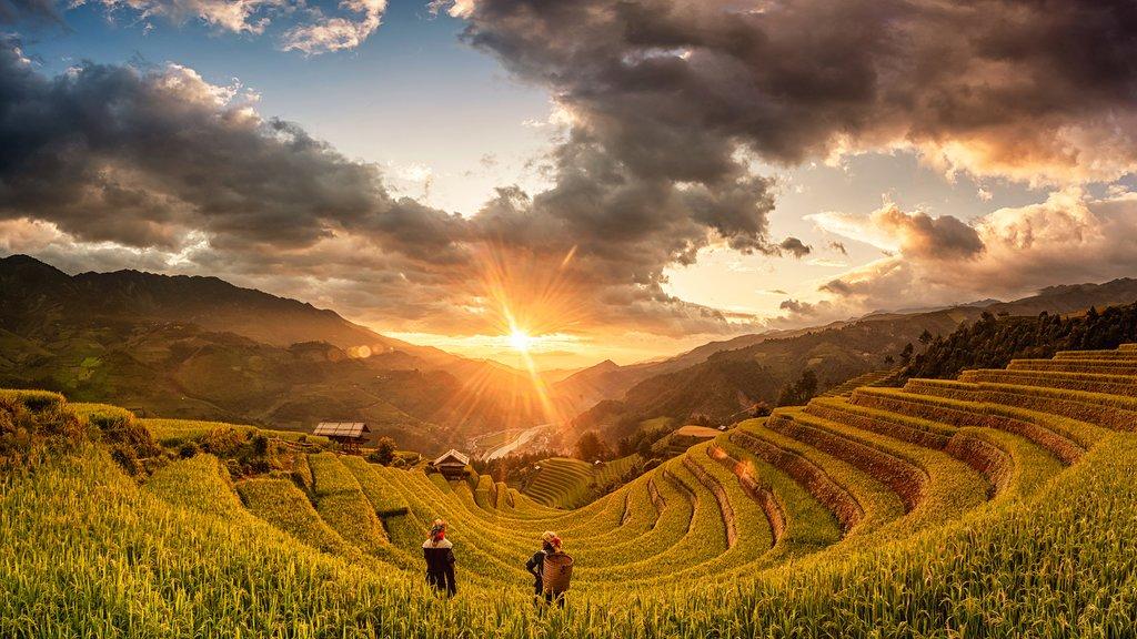 Northern Vietnam landscape