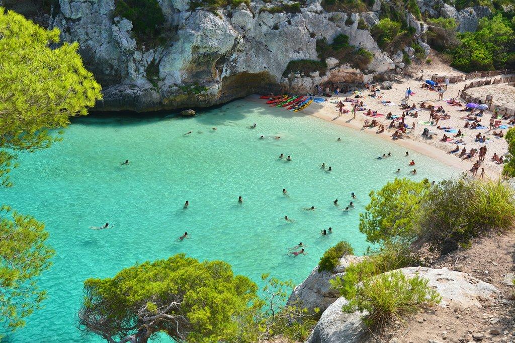 Menorca - Cala Mitjana