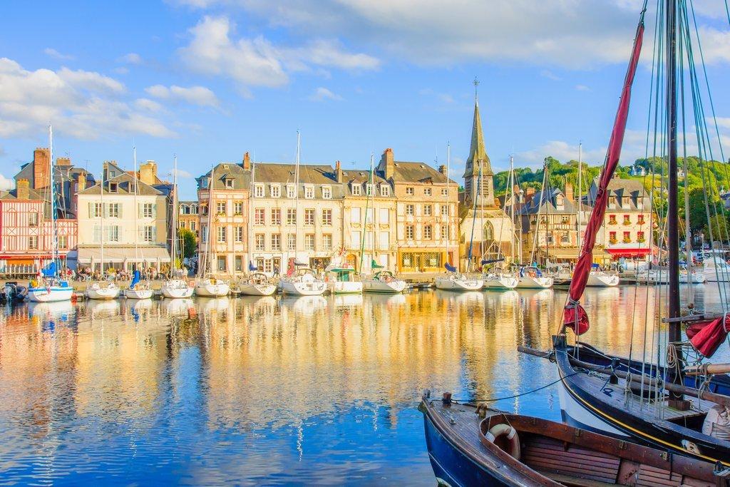 Vieux Port in Honfleur