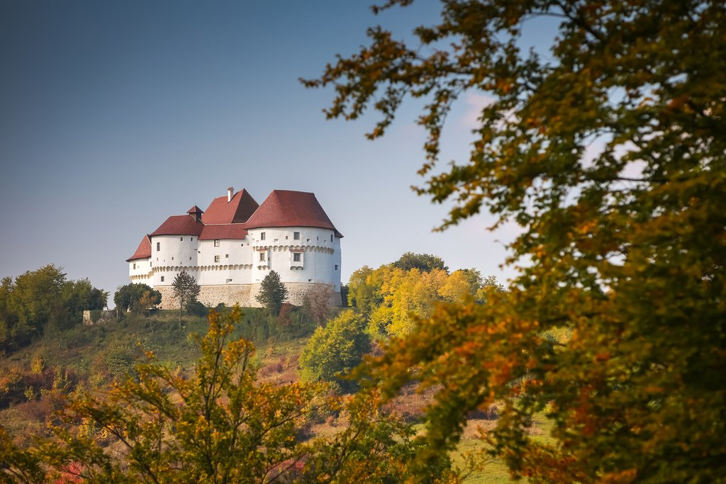 The Veliki Tabor fortress in the Zagorje region, Croatia