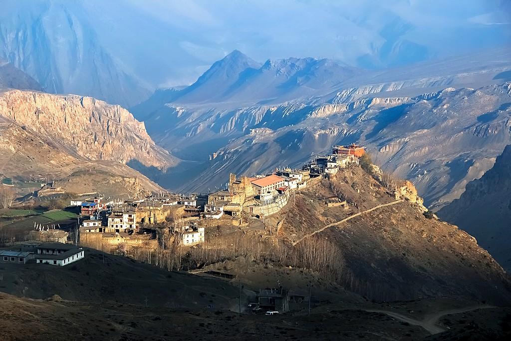 Muktinath village from above