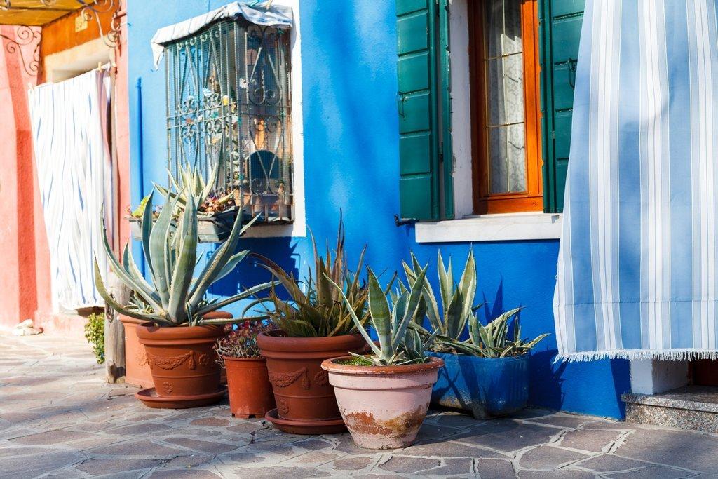 Homes of Burano, near Venice