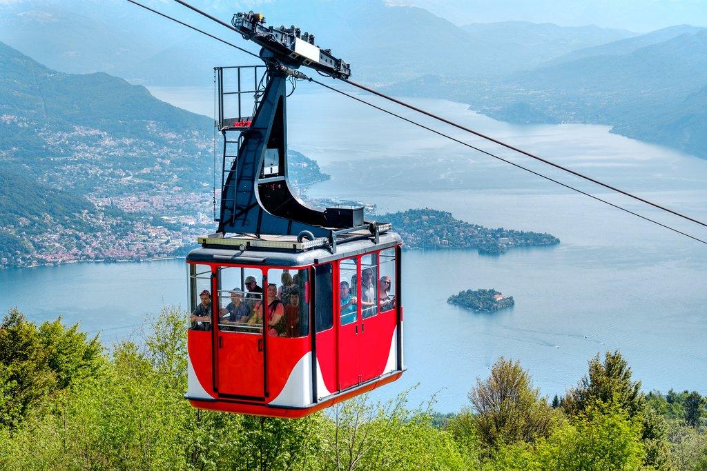 Monte Baldo Cablecar, Lake Garda