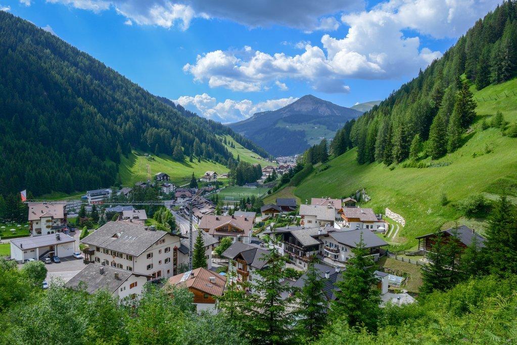 Alpine Town, Dolomites