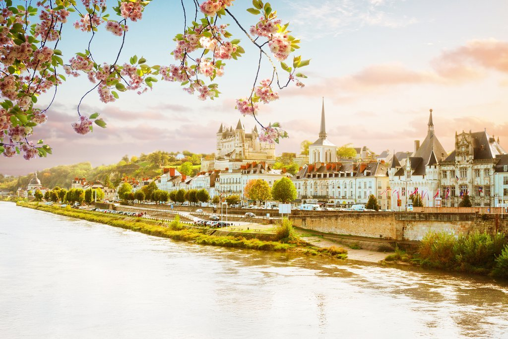 Springtime on the Loire River