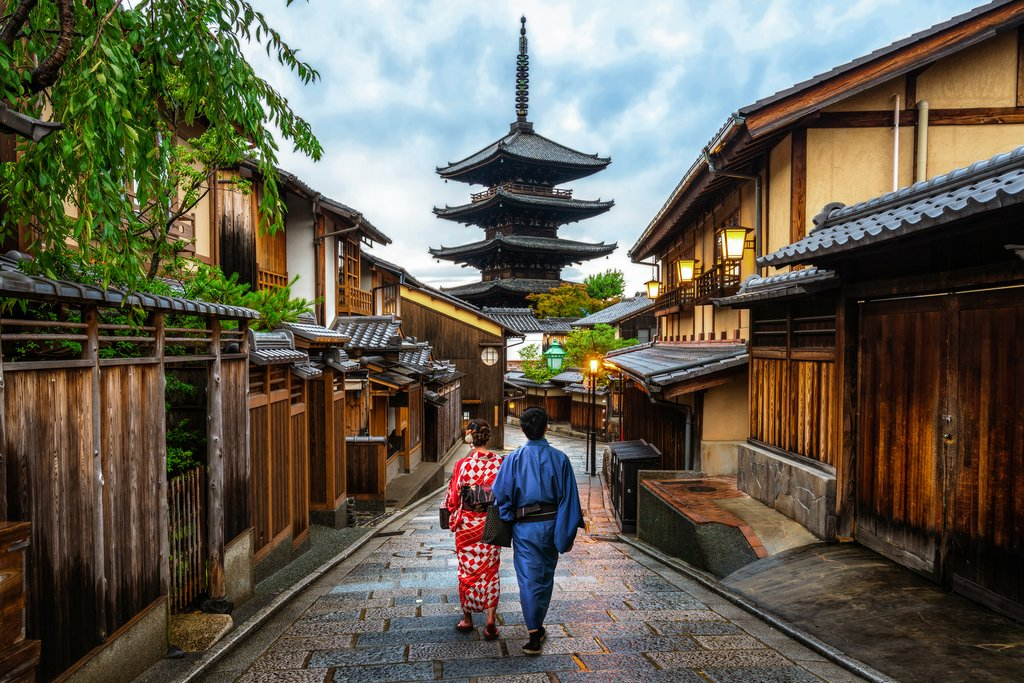 Kyoto's Higashiyama historic district
