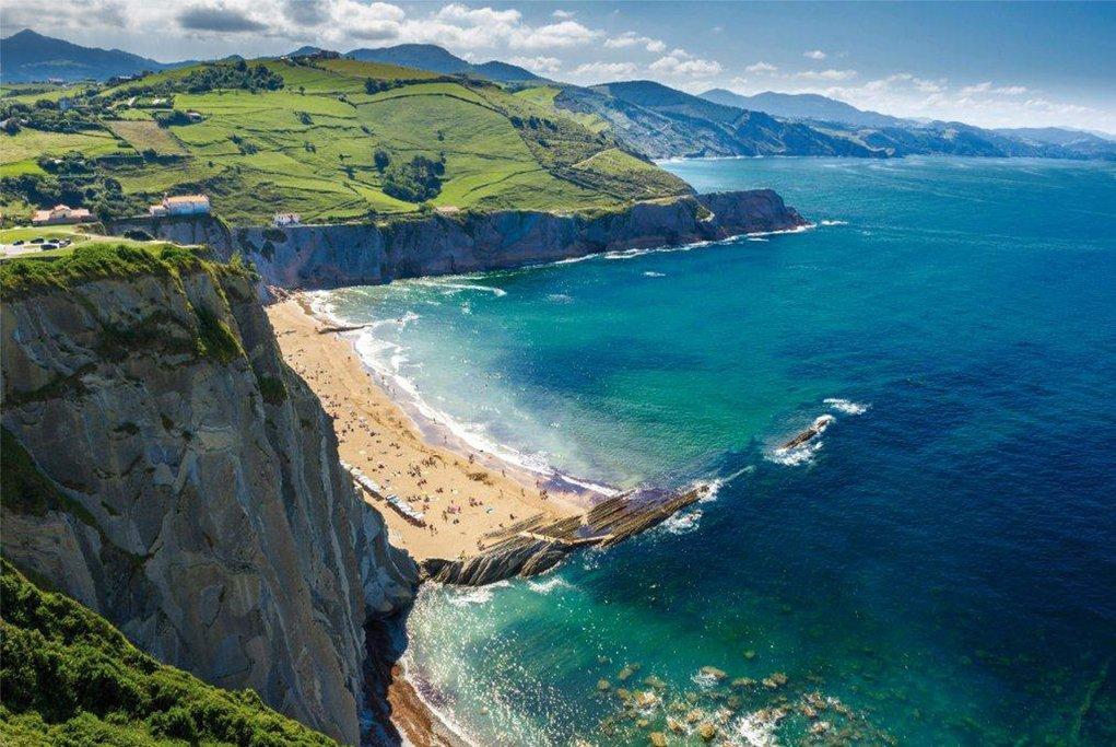 The Basque Atlantic coast