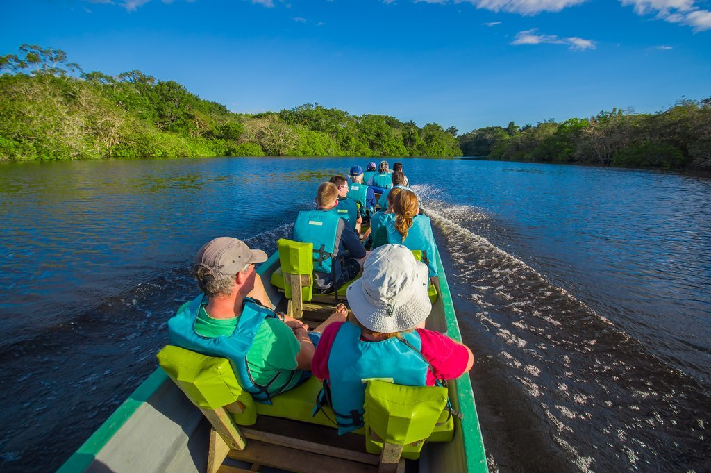 Venture into the Amazon in early March