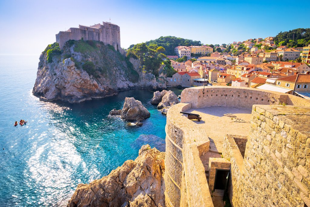 The medieval city of Dubrovnik