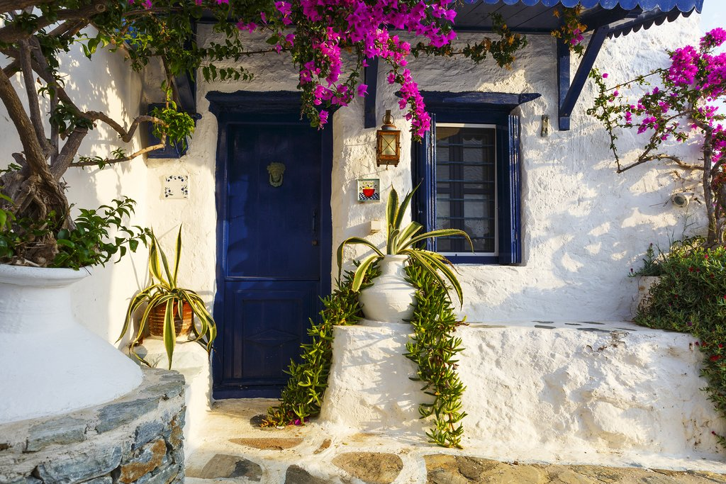 House in Skopelos town