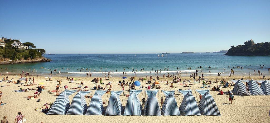 The beaches of Dinard