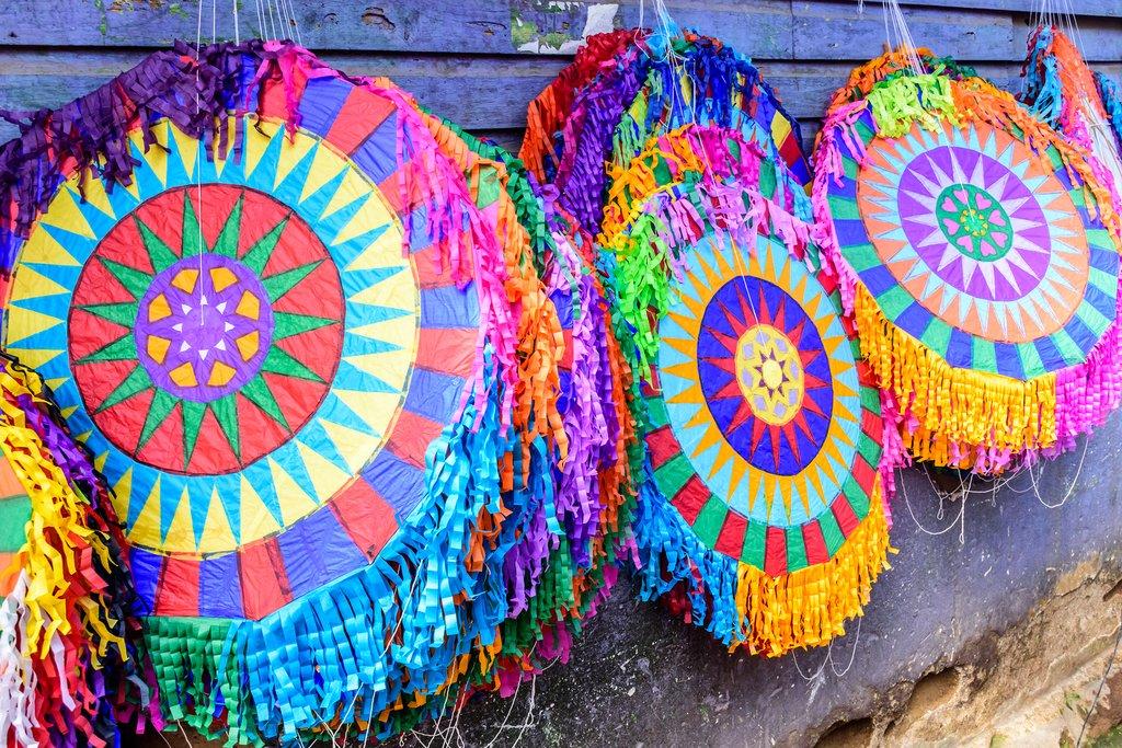 November 1 is the annual Giant Kites Festival