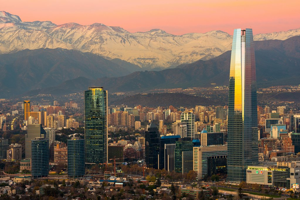 Chile's capital, Santiago