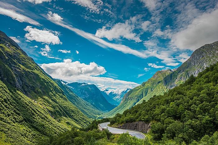 Drive along some of Scandinavia's most beautiful roads.