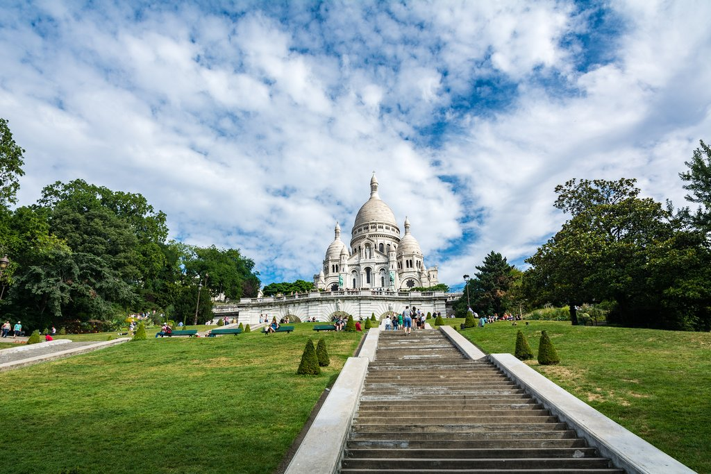 Basilica of the Sacre Coeur, Paris