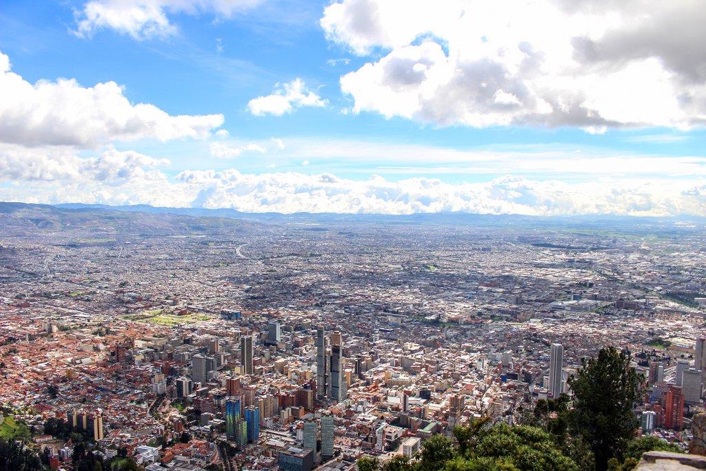 Bogota sprawl