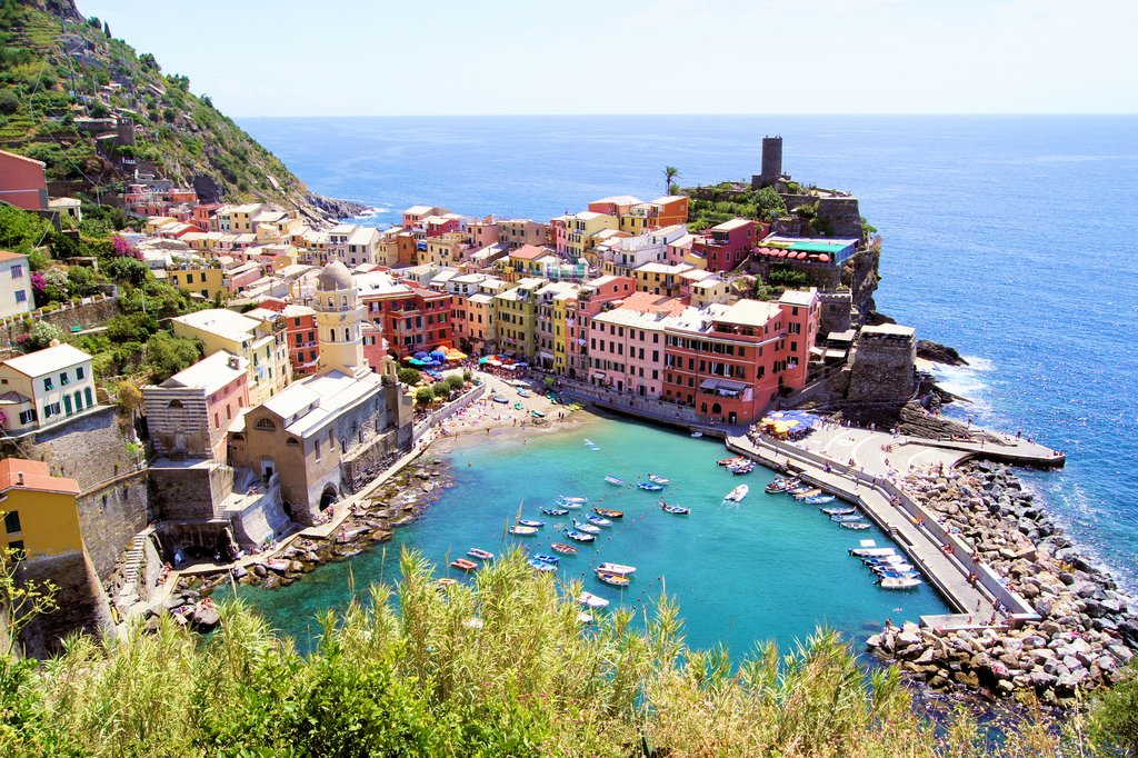 Vernazza, one of the Cinque Terre's historic towns