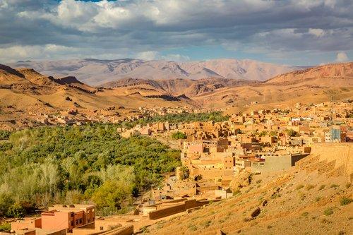 The Dades Valley, Morocco