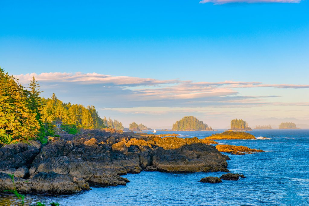 The Wild Pacific Trail near Ucluelet