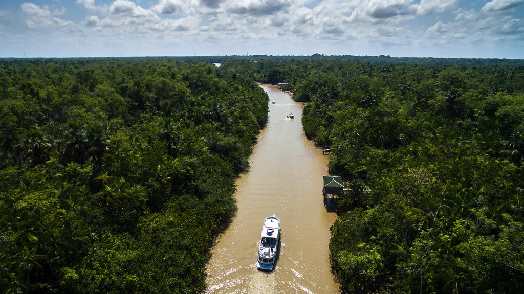 Amazon River in Belem do Para, Brazil