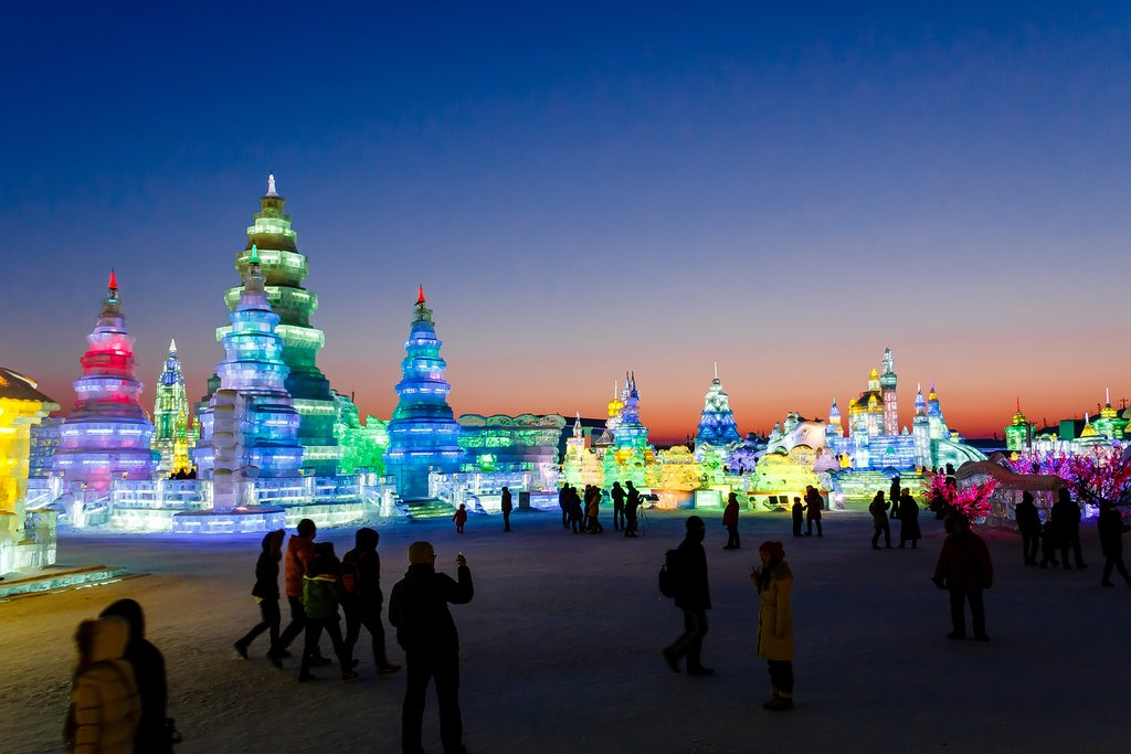 Harbin's International Ice and Snow Sculpture Festival