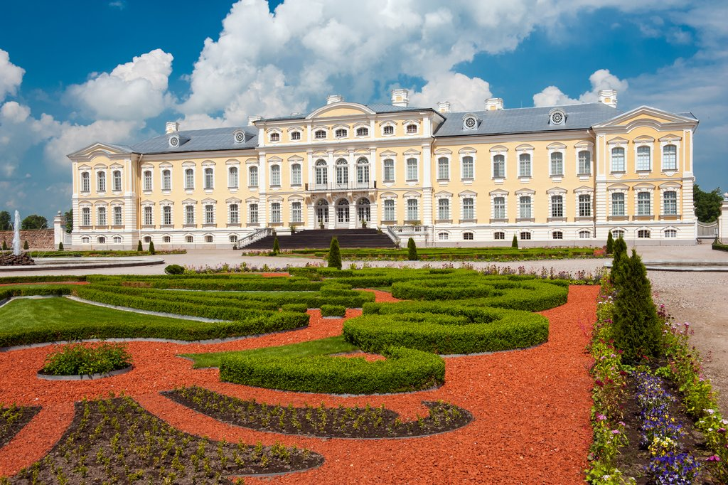 The magnificent Rundale Palace