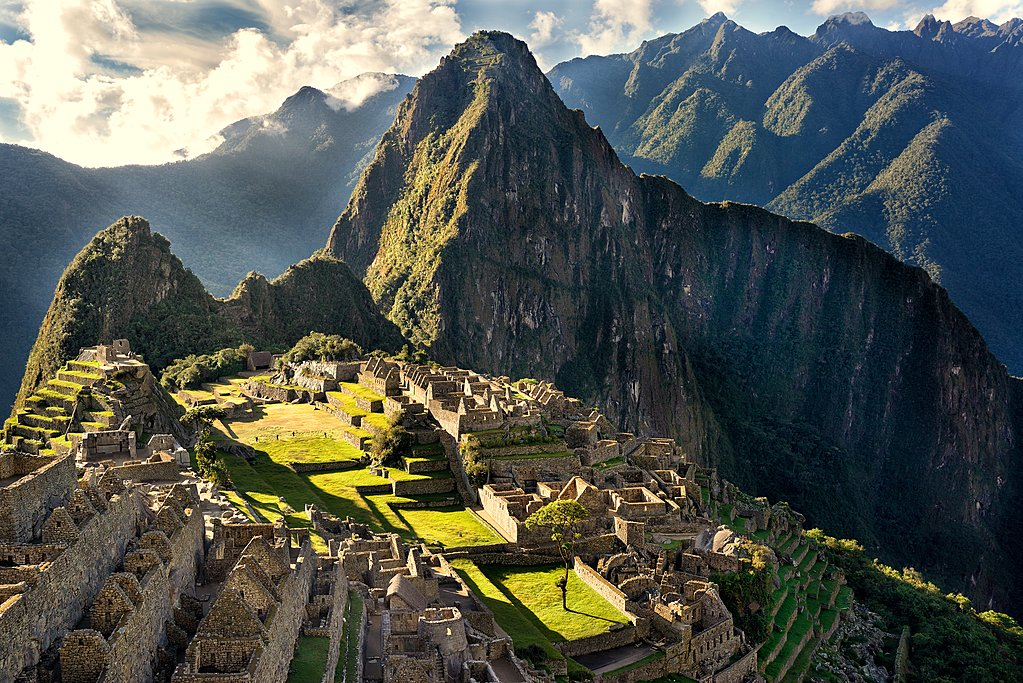 Dry weather in the ancient Inca City of Machu Picchu