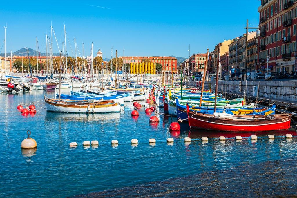 Port in Nice