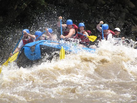 Rafting the whitewater near San Gil is one of many great adventures you can have in Colombia.