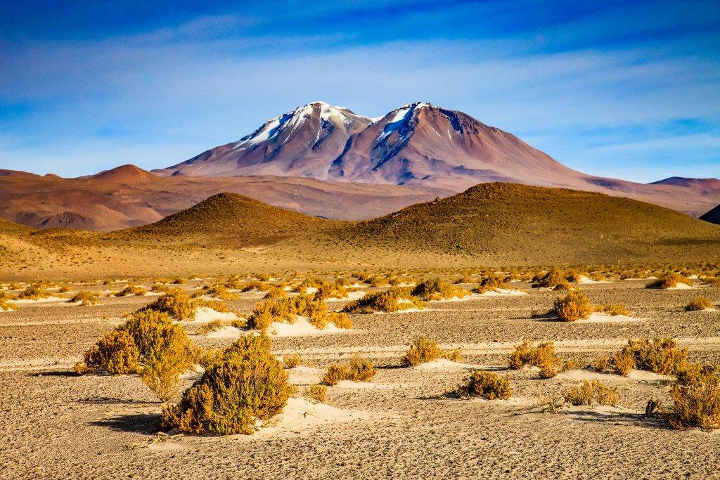 Unique topography in the Atacama Desert