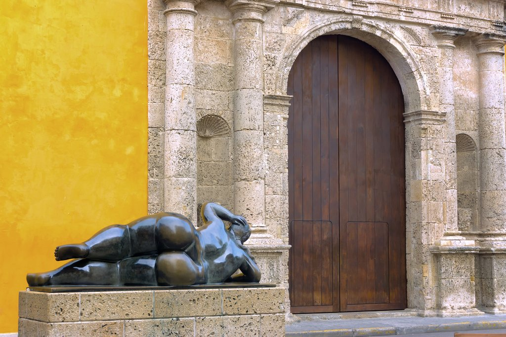 A sample of Cartagena's beautiful colors and architecture.