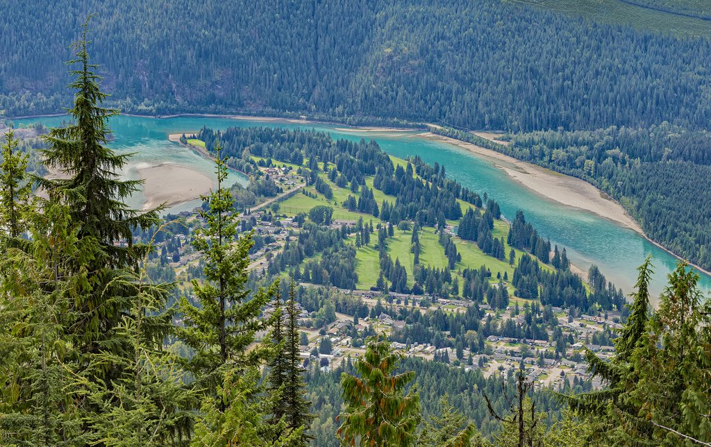 Town of Revelstoke, one of BC's most popular outdoor destinations