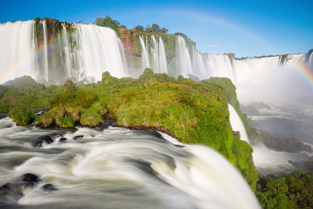 Iguazu Falls in Brazil