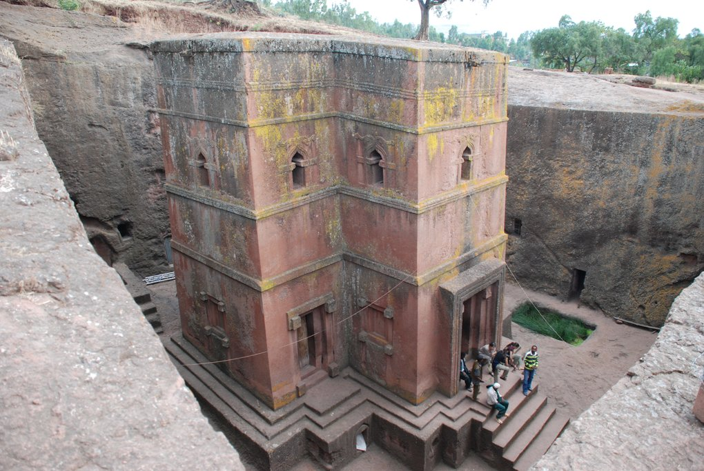 Bete Georgis church in Lalibela