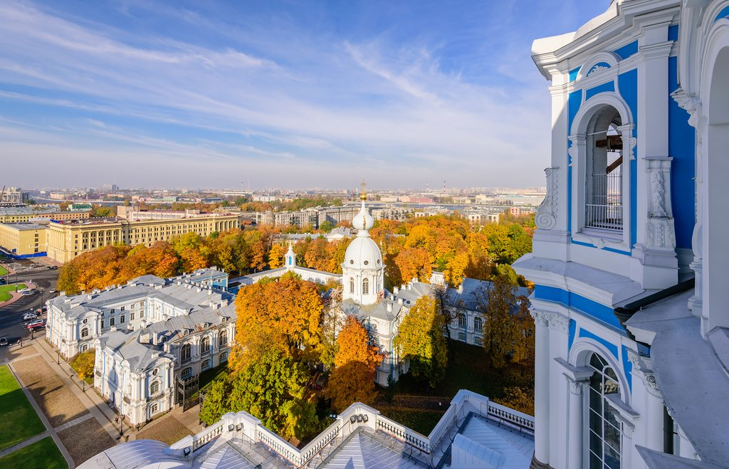 Smolny Cathedral, St. Petersburg