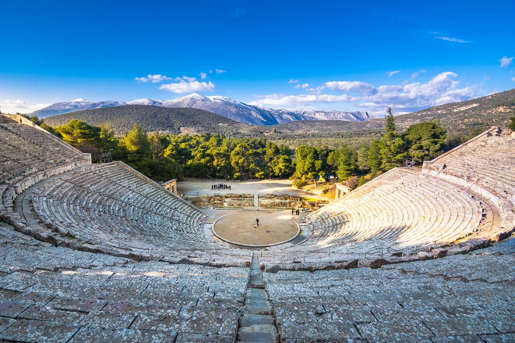 Exploring history in the Peloponnese