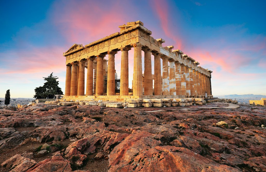 The iconic Parthenon in Athens