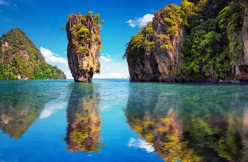 James Bond Island in Phang Nag National Park