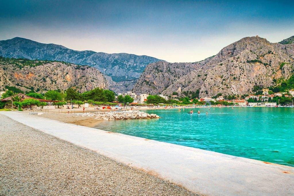 Omis town, the adventure capital of Croatia