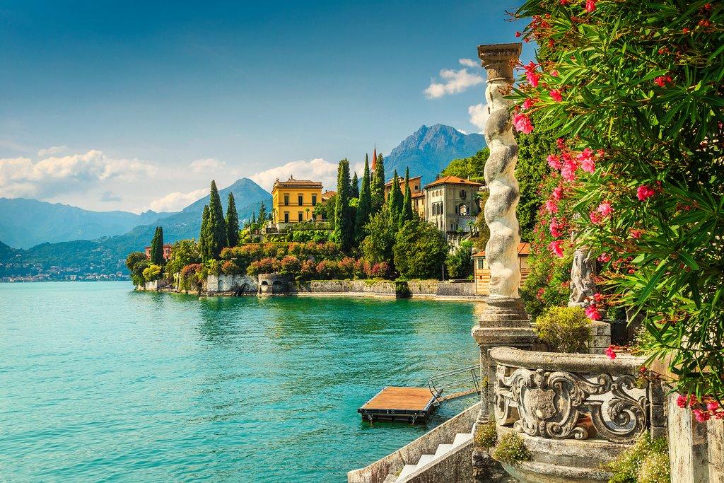 Beautiful Lake Como, Italy