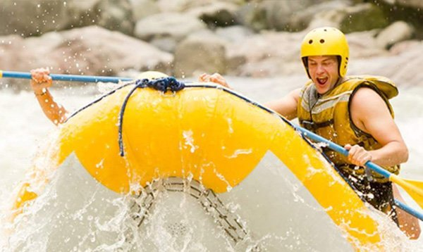 Rafting in Eduador