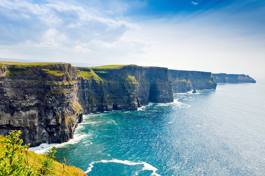The spectacular Cliffs of Moher