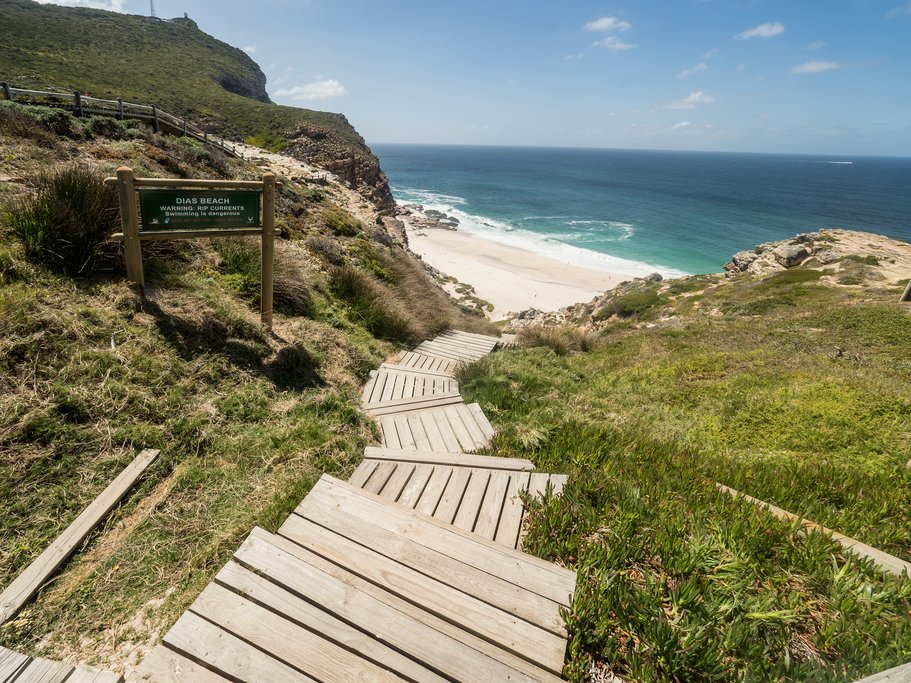 Scenic walkway at the Cape of Good Hope