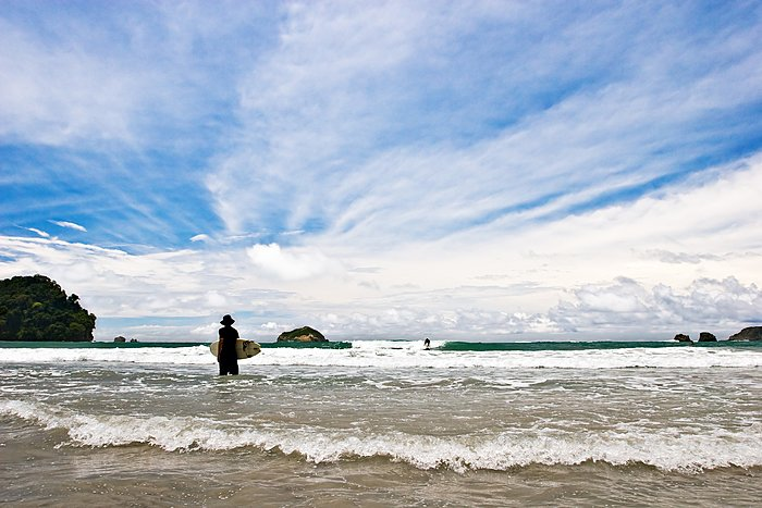 Surf until sunset on Costa Rica's west coast
