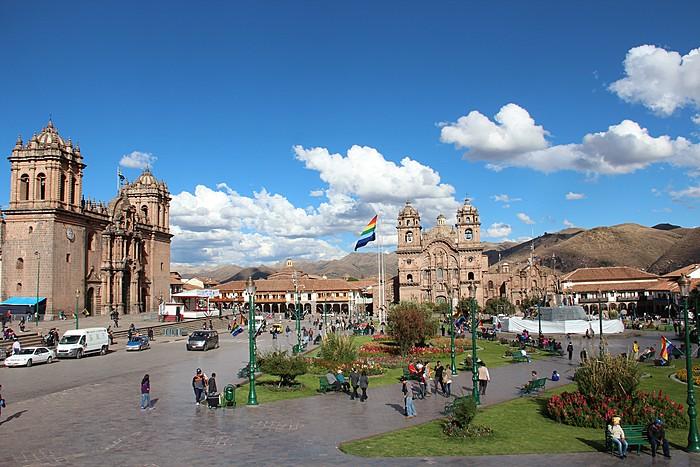Cusco city center