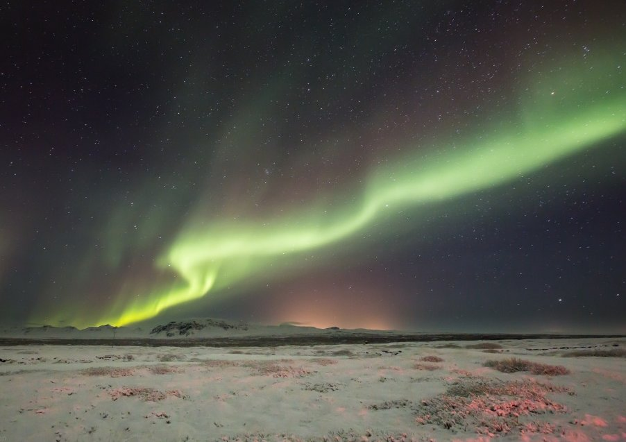 Northern Lights & Snowboarding on Iceland's South Coast : 6 Days