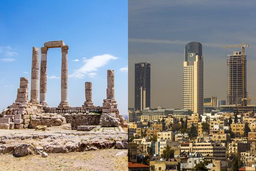 Amman Old and New