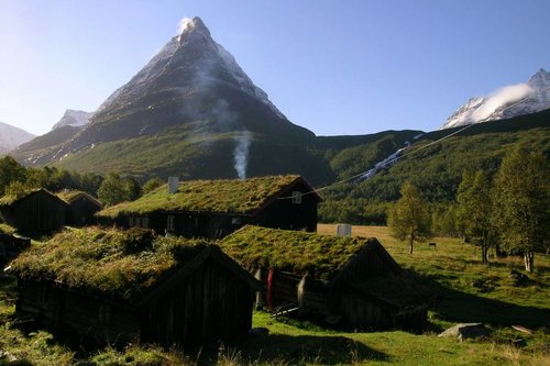 Innerdalen is said to be the most beautiful valley in Norway.