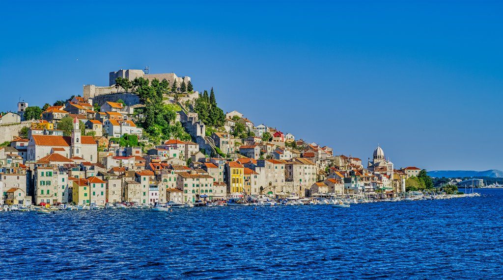 11th-century Šibenik sits pretty along the Adriatic